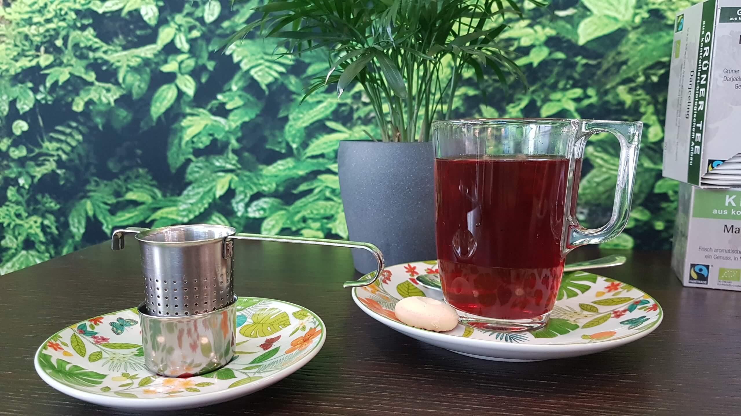 Tee-verschiedene Sorten Cafe Yellowbrasil
